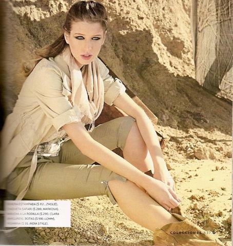 Moda y Tendencias – Primavera '09/Verano '10 – Estilos: Safari