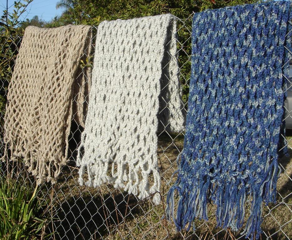 Bufandas Tejidas Crochet